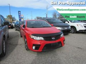 2011 Kia FORTE KOUP 2.4L SX | LEATHER | ROOF | NAV London Ontario image 1
