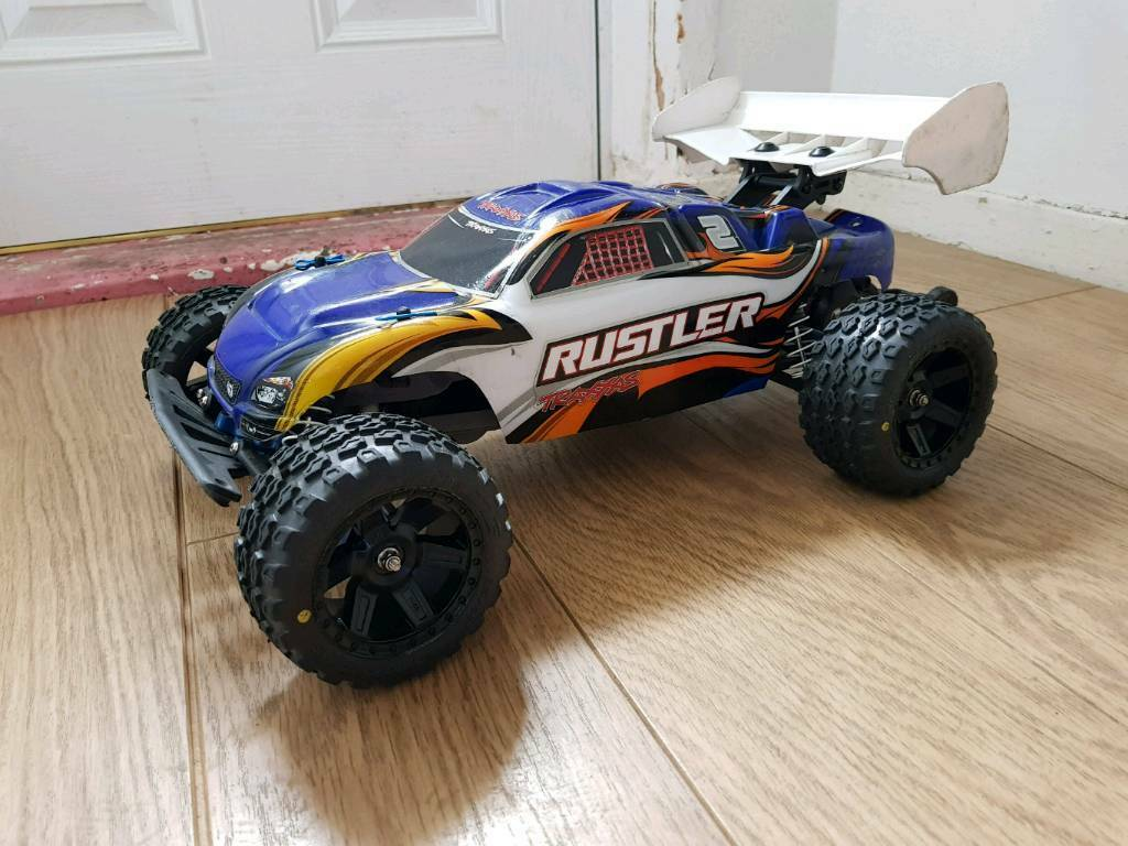 Traxxas Rustler VXL Brushless RPM Alloy TRX Proline Lipo Rc