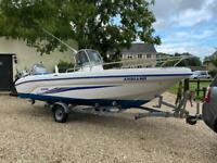 Ranieri Soverato 545 Motor Boat Mariner Four Stoke 90 HP