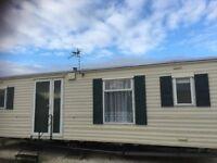 lovely caravan to rent ,sandfields site ,chapel st leonards ,skegness