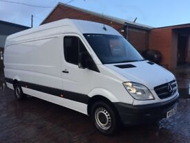 Mercedes sprinter van 58 plate 311 cdi lwb high roof 10 months mot drives excellent service history