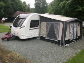 ISABELLA awning with cosy corner, ground sheet and windbreaker