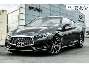 2017 Infiniti Q60 Tech Package! Bose Sound! Blind Spot! Navi!