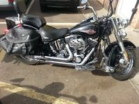 2006 Harley Davidson Heritage Softail with just 9400 miles
