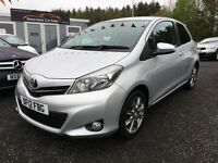 2012 Toyota Yaris, Sat Nav, Bluetooth, 12 MONTHS Warranty, Finance Available