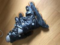 Rosa sport technology ABEC 1 roller blades size 7
