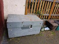 WANTED: Site box, van vault, flambank, cheaper the better