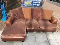 Small L-shape sofa