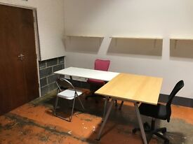 Desk(s) to rent in creative Hackney Downs Studios