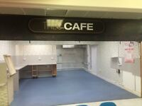 Cafe unit for rent in Clydebank Foodcourt