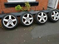 VW/Audi alloy wheels & tyres