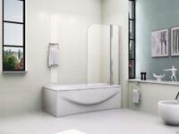 Brand New Glass bath shower screen