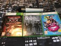 Xbox 360 Microphone, Guitar Hero,Singing Games.