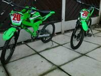 Kawasaki bikes good condition £40.00 each