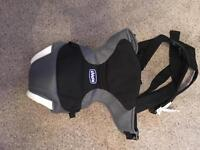 Chicco baby carrier.