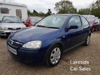 Vauxhall Corsa 1.2 SXI 3 Door, Full Service History, New MOT, Lovely Condition, Cheap Insurance.