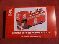 Liverpool FC Limited Edition Champs League '05 Lego Bus. Ideal Fan's Present. All sold out.