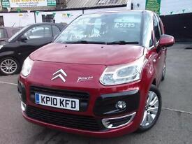 Citroen C3 Picasso 1.6 HDi 16V VTR+ 5dr (red) 2010