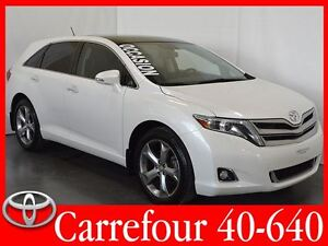2013 Toyota Venza V6 AWD Touring Cuir+Navigation+Toit Ouvrant