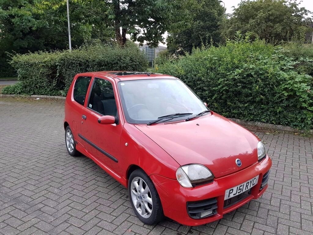 fiat seicento sporting michael schumacher 1 1 in witney. Black Bedroom Furniture Sets. Home Design Ideas