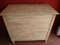 Large Vintage Storage Chest In Excellent Condition.