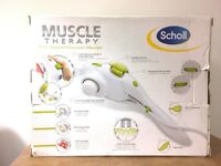 Scholl Muscle Therapy Massager 2 in 1 Targeted Percussion Massager