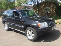 GRAND JEEP CHEROKEE 4.7 BLACK AUTO 4x4