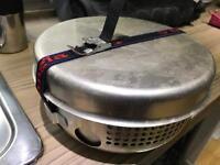 Trangia camping stove set.