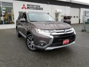 2016 Mitsubishi Outlander GT; Local & No accidents!