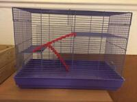 Large 3 level hamster cage!