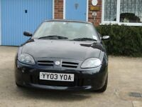 MG TF , MOT till March 2019, recently serviced and in very good condition. The Head has been done