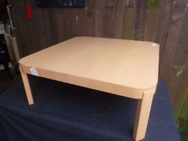 Low Level Round Edge Italian Coffee Table Delivery Available £15