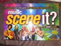 Scene it Music game