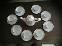 Noritake Damask Coffee Set