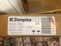 Dimplex Heated Towel Rail