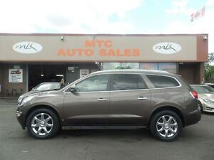 2009 Buick Enclave CXL, LEATHER, 7 PASSENGER, BACKUP CAM, SUNROO