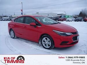 2016 Chevrolet Cruze LT Rear Camera Heated Seats
