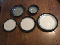 Denby Stoneware Halo dinnerware