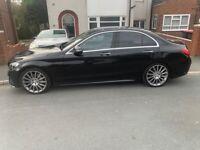 Mercedes-Benz c220 premium plus amg line. PANORAMIC ROOF & low milage