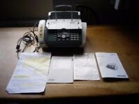Fax Jet 525 - combined fax machine/phone/photocopy/SMS