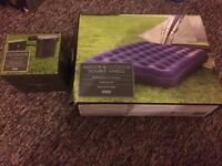 Air Bed and Electric Pump £15
