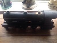 1928 Bowman model steam loco in original box , highly collectable , vintage