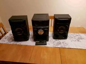 Sony stereo system 100W rms