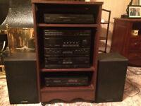 Vintage Pioneer hifi / record player /CD/radio/cassette player