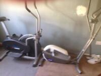 Two cross trainers one electrical never used both for £100