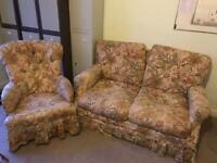 Cottage Sofa & two chairs