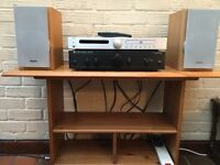 Complete HI FI system. AMP, CD Player, Speakers, + Cables. Lovely Condition