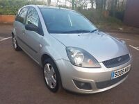 Ford Fiesta 1.25 Zetec 5dr, Mot, Hpi Clear, 1095 Ono