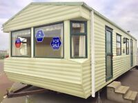 Cheap 2 bed Willerby Static caravan 2017 & 2018 site fees FREE at seawick clacton essex suffolk kent