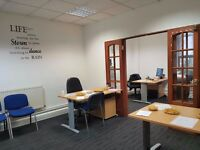 4 person office to rent in Stratford